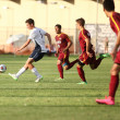 Conner Schuh   Banner Daniel Westholm, sophomore business administration major and midfielder, looks to pass the ball to his teammates during a home game against California State University, Dominguez Hills, on Sept. 8. The team currently holds a 5-6-1 record overall.