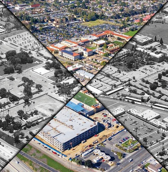 California Baptist University Campus Map.A Look Back On Campus Changes Over The Years The Banner